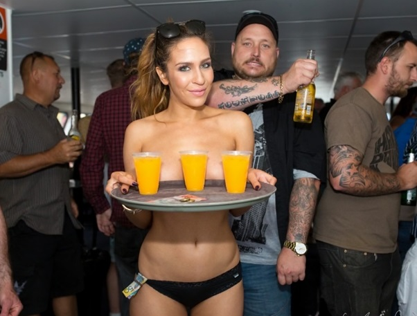 Audience Etiquette for Topless Waitresses and Strip Shows